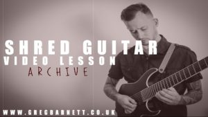 Metal Guitar Lesson With Tab